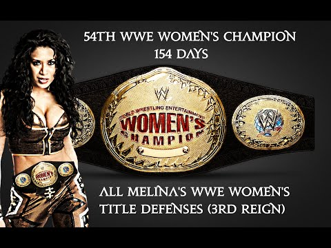 All Melina's WWE Women's Title Defenses (3RD REIGN)
