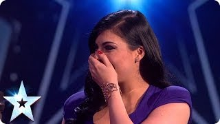 Lucy Kay is in the Final - watch her reaction | Britain's Got Talent 2014