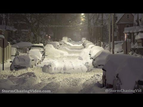Winter Storm Buries New York City In Deep Snow - 2/1/2021