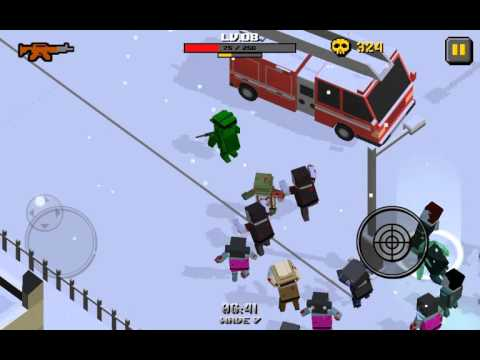 Cube Zombie War — крутая игра на android