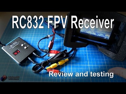 RC Reviews - RC832 32 Channel 5.8Ghz FPV receiver (from Banggood.com)