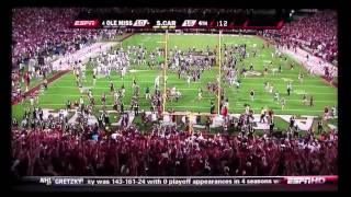 South Carolina Beats #4 Ole Miss (The Birth of Sandstorm)