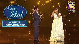 "Udit जी और Arunita ने दिया ""Tu Mere Saamne"" पर Duet Performance   Indian Idol   Mashup Performance"
