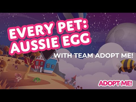 Every Pet in the Aussie Egg 🐨  Adopt Me! on Roblox