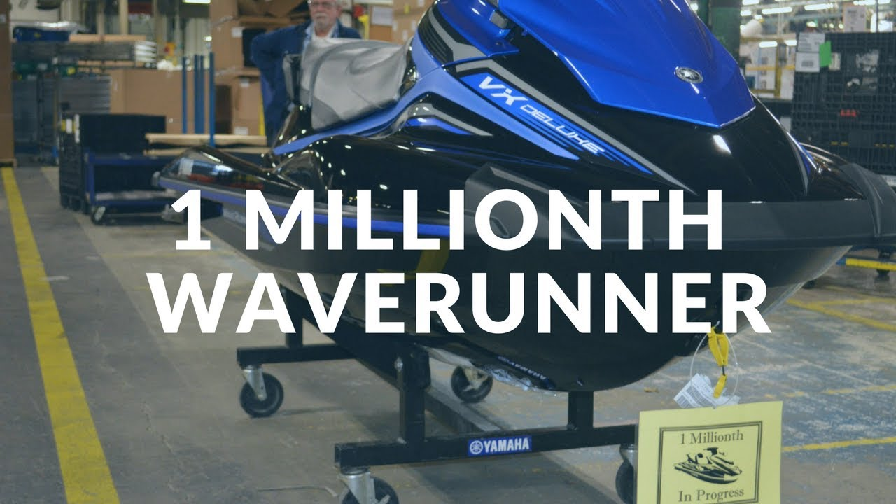 How A Yamaha Waverunner Is Built | Boating Magazine