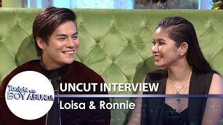 TWBA Uncut Interview: Ronnie Alonte & Loisa Andalio