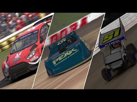 #DIRTNight | Red Bull GRC at Daytona | World of Outlaws at Williams Grove