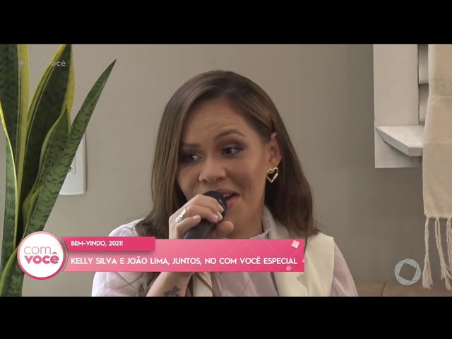 Com Você -  João Lima e Kelly Silva canta sucessos