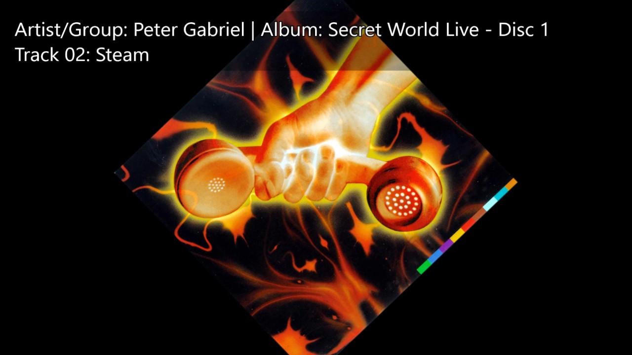 Peter Gabriel | Secret World Live Disc 1 | 02 Steam