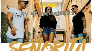 Kay One feat. Pietro Lombardi - Señorita - Lyric