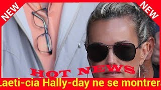 Laeti­cia Hally­day ne se montrera pas avant l'en­ter­re­ment de Johnny