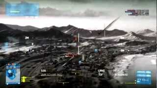 """BF3 TV Rocket Montage! """"Air Superiority"""""""