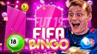 SUPER SPECIAL CARD FIFA BINGO!!! FIFA 19 FUTTIES PACK OPENING!