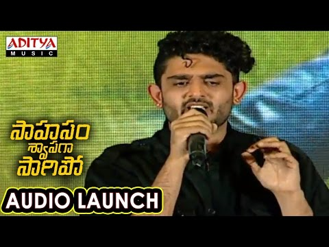 Vellipomaakey Song Performance At Saahasam Swaasaga Saagipo Audio Launch