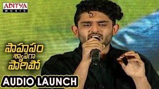 Download Hindi Video Songs - Vellipomaakey Song Performance At Saahasam Swaasaga Saagipo Audio Launch