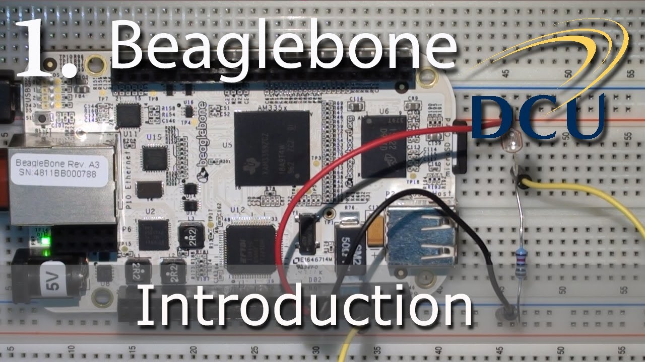 The Beaglebone for Embedded Linux Development | derekmolloy ie
