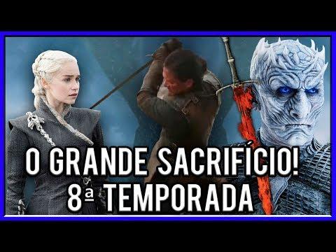 Jon Snow Sacrificará a Daenerys para criar a Luminífera? - Game Of Thrones 8ª Temporada