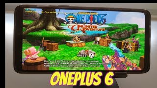 OnePlus 6 One Piece: Unlimited Adventure Gameplay Wii emulator Snapdragon 845 Dolphin latest version