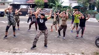 'GOYANG 80 JUTA' viral by HAS P.O   choreo by EVIN Malang   Lets be sexy with the Zumba Squad