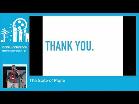 Eric Steele - The State Of Plone