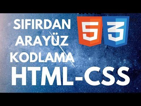 HTML&CSS SIFIRDAN RESPONSIVE SİTE YAPIMI (GİRİŞ SEVİYESİ UYGULAMA DERSİ)