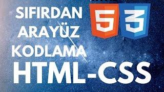 HTML&amp CSS SIFIRDAN RESPONSIVE SİTE YAPIMI GİRİŞ SEVİYESİ UYGULAMA DERSİ