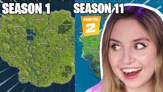 Maddynf Fortnite Chapter 2 FIRST impressions! | Gameplay, Battle Pass, Victory Umbrella!
