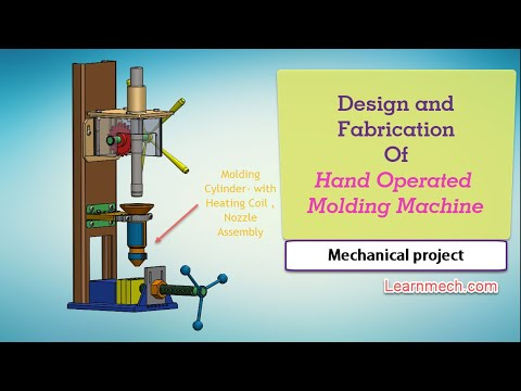 Design and Fabrication Of Hand Injection Molding Machine | Mechanical  Project