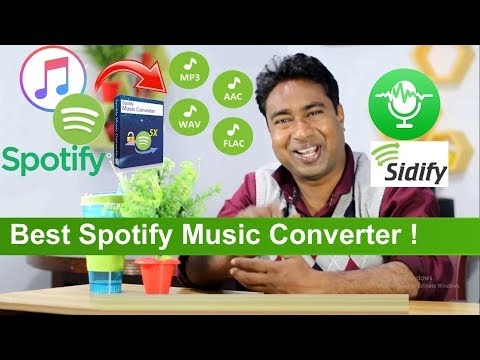 The Best Spotify Music to MP3 , AAC, WAV & FLAC Converter | Sidify