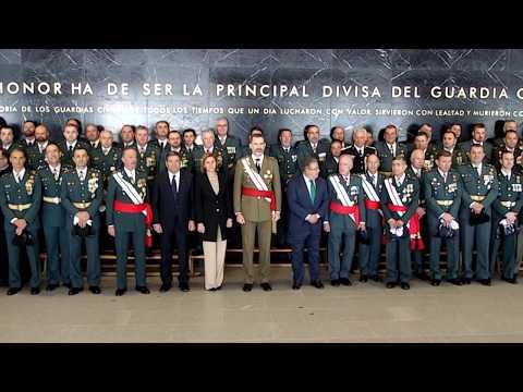 S.M. el Rey visita la Academia de Oficiales de la Guardia Civil de Aranjuez.