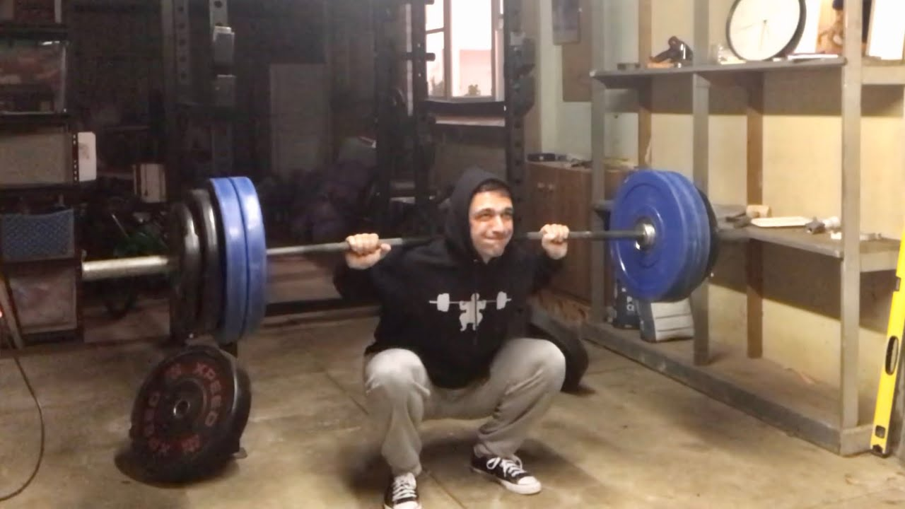 Squat everyday Day 656: 3 training sessions a day