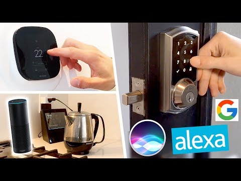 Top 5 Smart Home Tech of 2017 (for Amazon Echo, Google Home & Siri!)