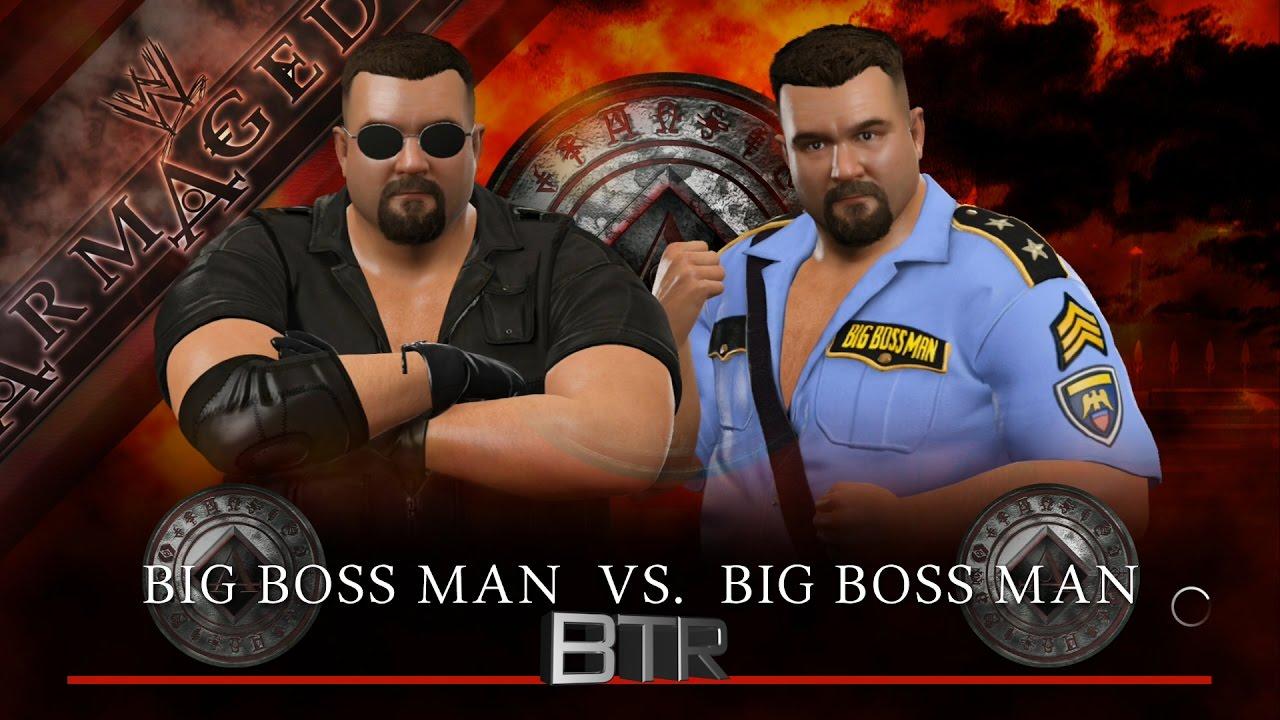 Wwe 2k17 Mirror Match Big Boss Man 1999 Vs Big Boss Man