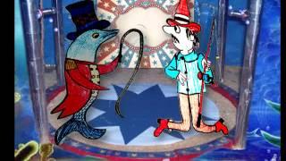 Martín Pescador y el Delfín domador.M.E.Walsh