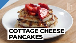 How to Make the Best Pancakes Using Cottage Cheese | Food Hacks with Claire