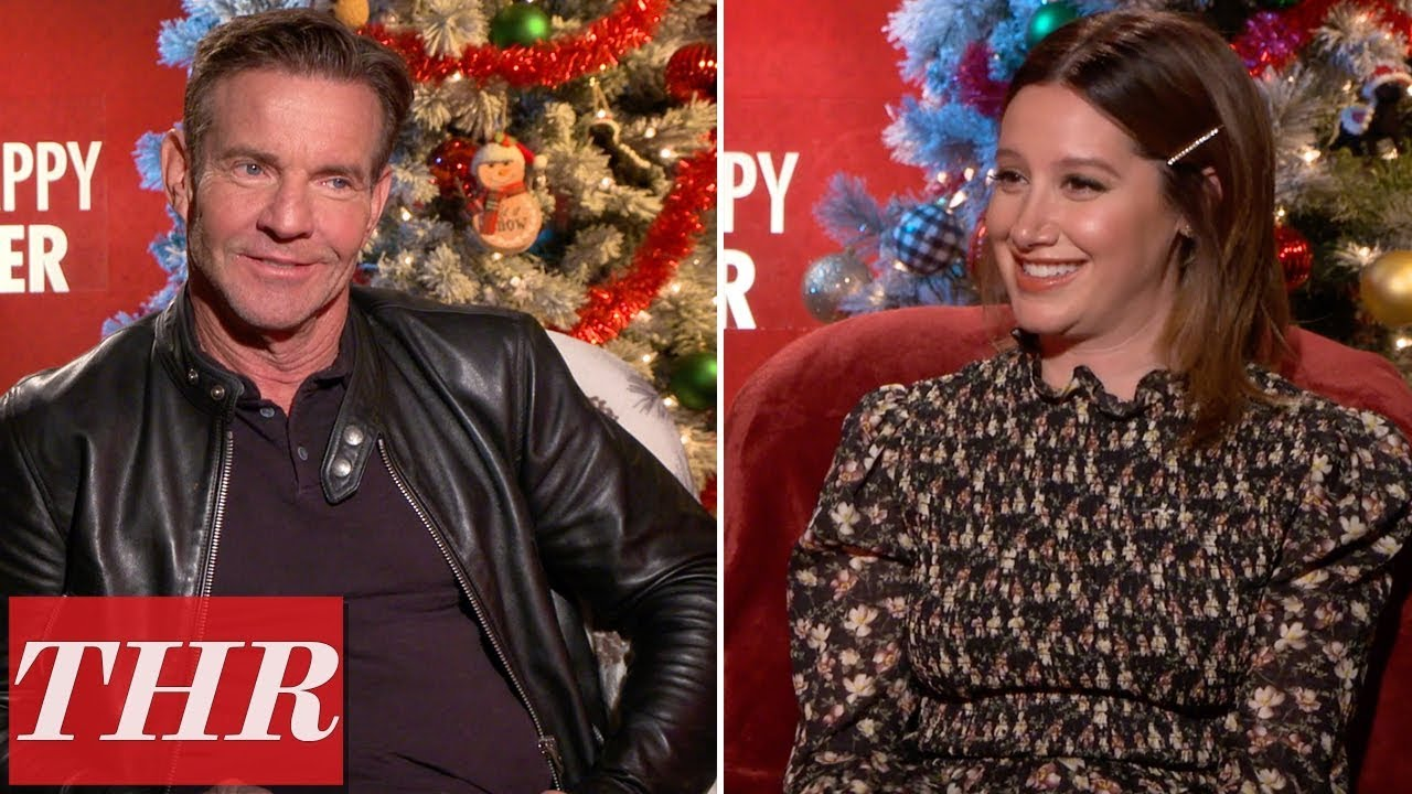 Dennis Quaid Admits He Was the 'Weakest Member' of the 'Merry Happy Whatever' Cast | THR News