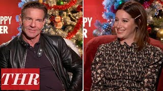 Dennis Quaid Admits He Was the 'Weakest Member' of the 'Merry Happy Whatever' Cast   THR News