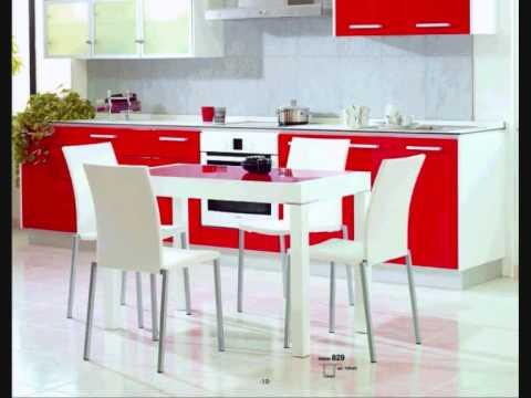 Mesas y sillas cocina salvany 2 youtube - Sillas para cocinas modernas ...