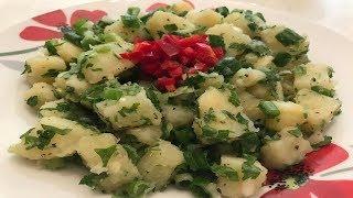 Lebanese potato salad recipe - سلطة البطاطا سهلة وسريعة