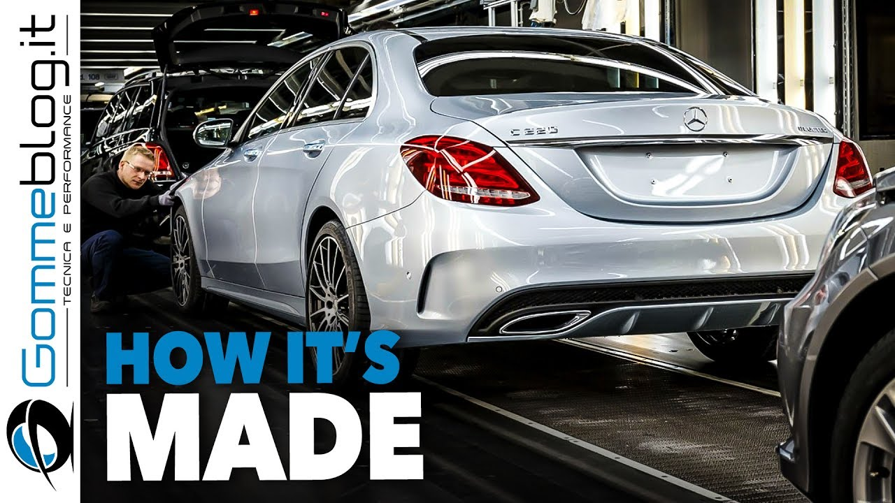 Mercedes C-Class CAR FACTORY - HOW IT'S MADE Assembly Production Line Manufacturing Making of