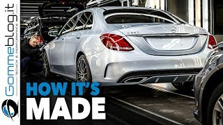 Mercedes C-Class CAR FACTORY - HOW IT