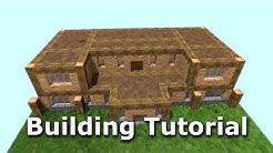 Spacious Dwelling Part 3: Minecraft Building Tutorial
