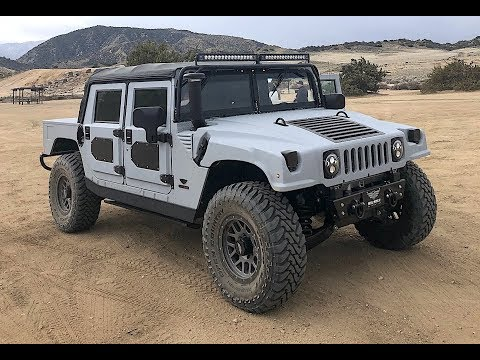 500 HP & 1,000lb/ft Mil-Spec Hummer H1- (Off-Road) One Take