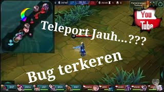 Teleport Jarak Jauh di Mobile Legend....???😂😂