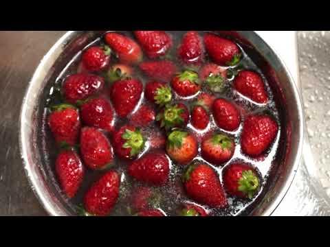 いちごの農薬を除去する食べ方