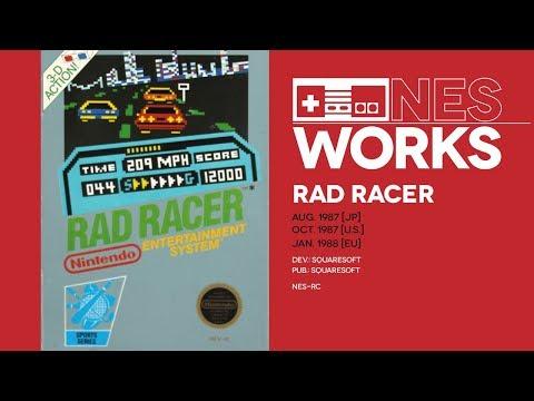 Rad Racer retrospective: The silver Star | NES Works #061