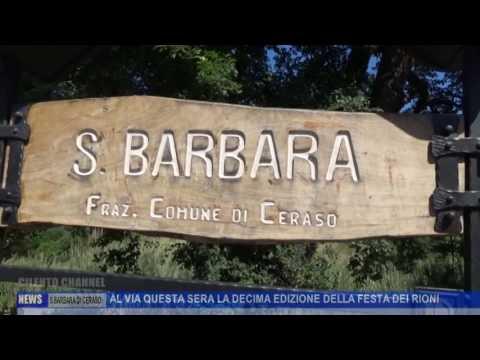 S. BARBARA DI CERASO, AL VIA LA DECIMA EDIZIONE DELLA FESTA DEI RIONI