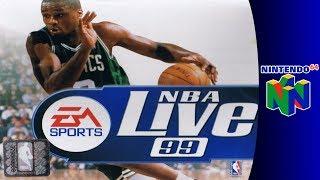 Nintendo 64 Longplay: NBA Live 99