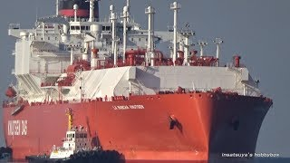 LA MANCHA KNUTSEN LNGタンカー LNG TANKER SHIP
