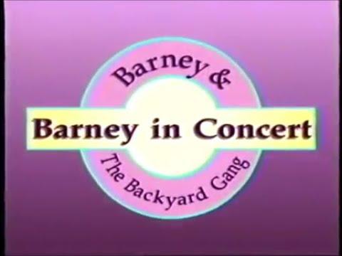 Barney in Concert Custom Theme (Backyard Gang Version ...
